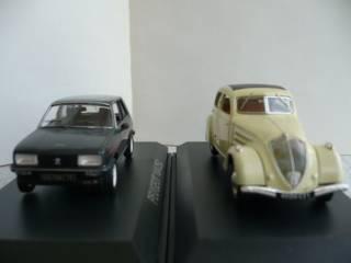 Peugeot 104/Peugeot 302 1:43 Norev 4