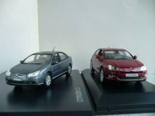 Citroen C5 седан (2004 и 2008 гг.) 1:43 Norev 4