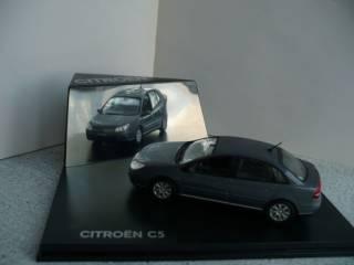 Citroen C5 седан (2004 и 2008 гг.) 1:43 Norev 2