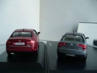Citroen C5 седан (2004 и 2008 гг.) 1:43 Norev 5