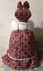 Кукла-грелка на заварочный чайник ручной работы - это лучший подарок 3