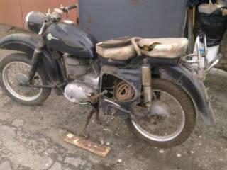 Ретро Мотоцикл MZ ES 300 4
