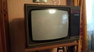 Телевізор Електрон Ц-382Д-И з розємами SCART Smart 2
