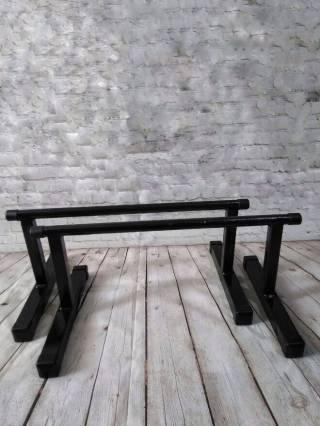 Напольные брусья для отжиманий, Паралетсы, высота - 27 см, из стали
