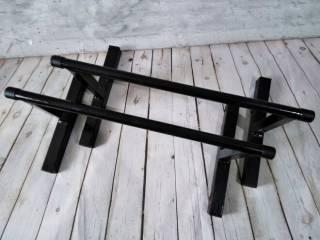 Напольные брусья для отжиманий, Паралетсы, высота - 27 см, из стали 5