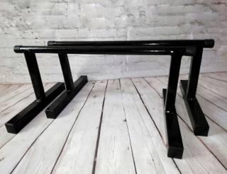 Напольные брусья для отжиманий, Паралетсы, высота - 27 см, из стали 3