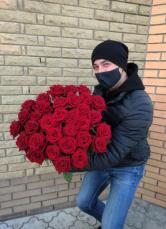 Роза домашняя. Ежедневный срез! Цветы от производителя. ЦЕНА-КАЧЕСТВО! 7