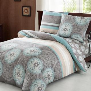 Двуспальное, евро постельное белье из сатина Польша 100% коттон