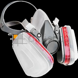 Респиратор полумаска с фильтрами, копия 3М 6200 2