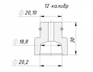 Конус Lee Load All 2 Ли Лоад2(10,12,16,20 калибр)+упор (комплект) 5