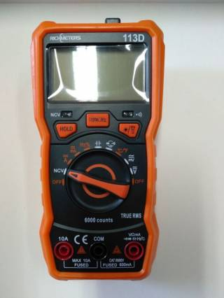 Цифровой мультиметр Richmeters RM-113D тестер без магнита
