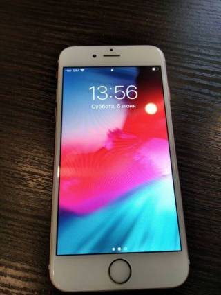 Iphone 6s/16gb rose neverlock