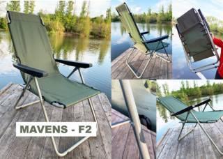 """Крісла для риболовлі, шезлонги, рибальські стільці """"Mavens"""" 8"""