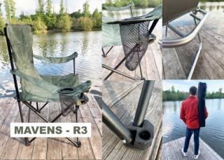 """Крісла для риболовлі, шезлонги, рибальські стільці """"Mavens"""" 4"""