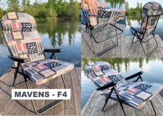 """Крісла для риболовлі, шезлонги, рибальські стільці """"Mavens"""" 10"""