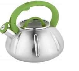 Чайник со свистком. Нержавеющая сталь. 2