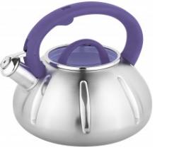 Чайник со свистком. Нержавеющая сталь. 3