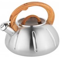 Чайник со свистком. Нержавеющая сталь.