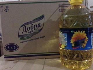 "Подсолнечное масло ТМ ""Добра олія"", ТМ ""OVолія"""