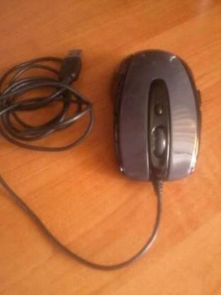 Миша на дріт A4Tech D-708 X Holeless Glossy Grey (USB 2.0) (1600 dpi)