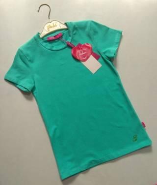 Зеленая однотонная футболка Sarah Chole р. 10-11 лет