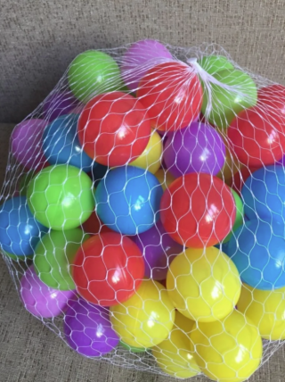 Детские шарики для сухих бассейнов 6 см 10 штук 8
