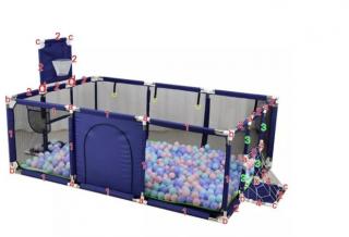Детские шарики для сухих бассейнов 6 см 10 штук 2