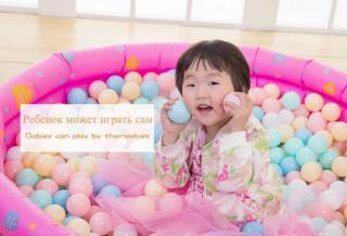 Детские шарики для сухих бассейнов 6 см 10 штук 4