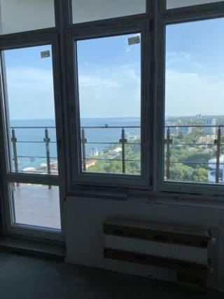 Продам 1к кв-ру в Акрадии, панорамный вид моря, терраса, 45 Жемчужина 3