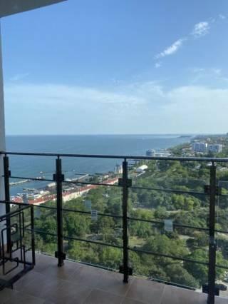 Продам 1к кв-ру в Акрадии, панорамный вид моря, терраса, 45 Жемчужина 6