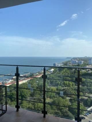 Продам 1к кв-ру в Акрадии, панорамный вид моря, терраса, 45 Жемчужина 2
