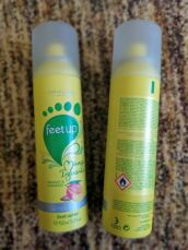 Освежающий спрей-дезодорант для ног Манго и женьшень 2
