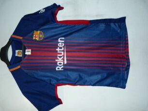 Футболка футбольная рост Barselona 160-164