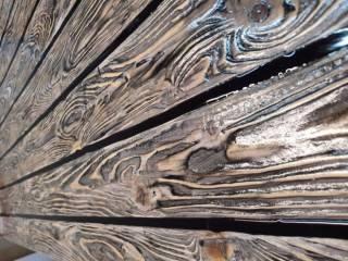 Стол лофт LOFT из эпоксидной смолы и дерева 8