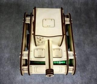 Минибар-упаковка для пива в форме танка 3