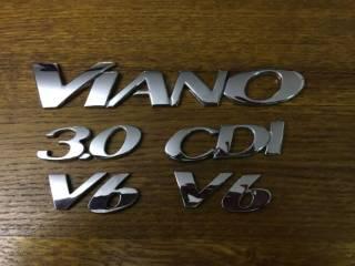 Надпись Viano 3.0 CDI Mercedes