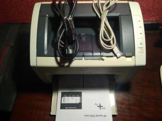 Лазерный принтер HP LaserJet 1022 8