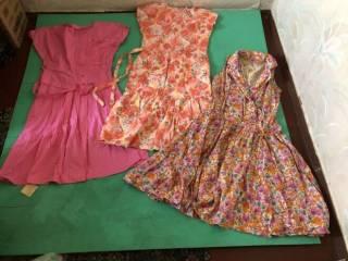 продам женские платья , ситцевые СССР