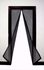 "Антимоскитная магнитная шторка""Magic Mesh""сетка на дверь, аналог штора"
