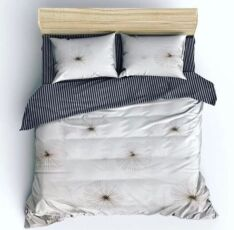 Комплект постельного белья, бязь, полуторный