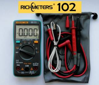 Richmeters RM 102 RM102 Мультиметр Вольтметр Тестер Амперметр оригинал