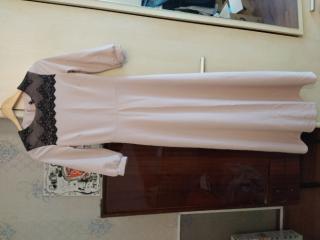 Платье нарядное с кружевом 4