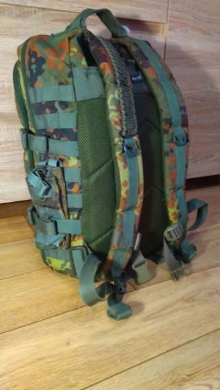 Mil-tec assault pack 40l Flecktarn (Б/У) 2