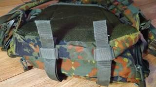 Mil-tec assault pack 40l Flecktarn (Б/У) 3