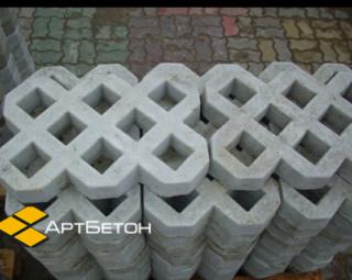 ЭКО плитка Травница газонная решётка от производителя АртБетон Харьков 2