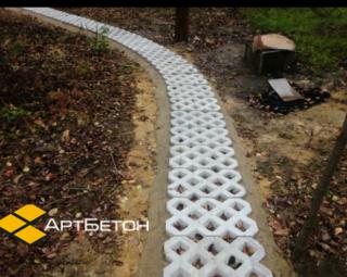 ЭКО плитка Травница газонная решётка от производителя АртБетон Харьков 3