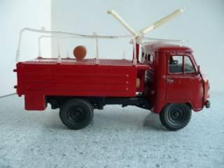 УАЗ-452Д пожарный 1:43 Русская миниатюра 4