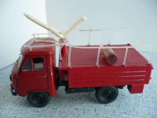 УАЗ-452Д пожарный 1:43 Русская миниатюра 6