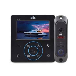 Комлект домофона ATIS AD-480 В/W Kit box/ монітор / панель 1000