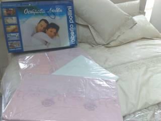 Двухспальный свадебный комплект белья (7 предметов) 180х200